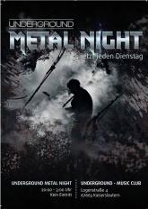 Underground Metal Night