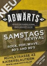 Abwärts Musicclub Revival Samstag