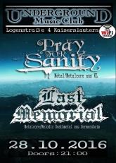 Underground Metal Party mit Live-Musik