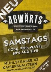 Abwärts Musicclub - Rock, Pop, Wave, 80er, 90er