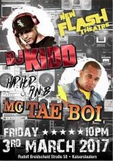 DJ KIDD and MC Tae Boi