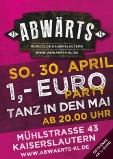 Tanz in den Mai 1 € Party