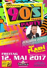 90ER PARTY mit Benjamin Boyce Ex-Caught in the Act