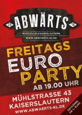 Abwärts Musicclub Euro Party
