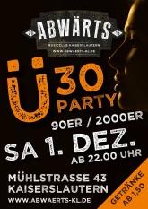 Abwärts Ü30 Party 90er 2000er