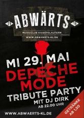 Abwärts Depeche Mode Tribute Party