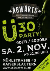 Abwärts Ü30 90er/2000er Party