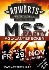 Abwärts MSS Party VGL-Lauterecken